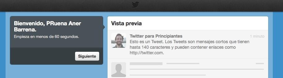 configurar cuenta twitter paso 1