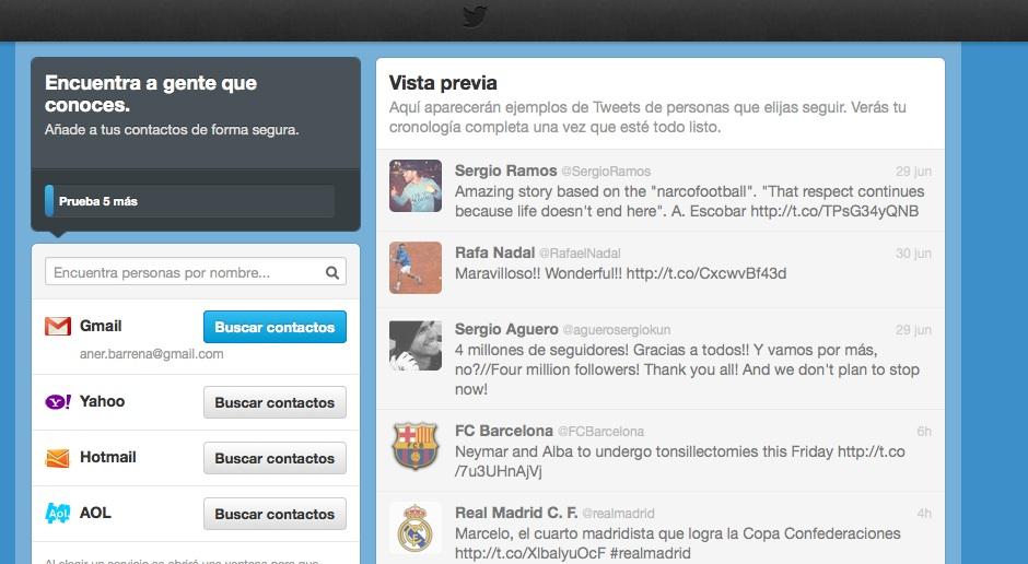 configurar cuenta twitter paso 4