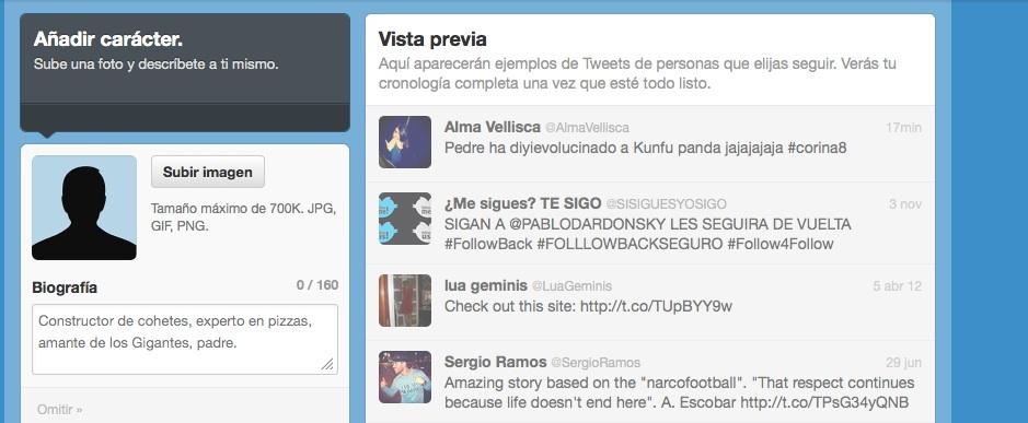 configurar cuenta twitter paso 5