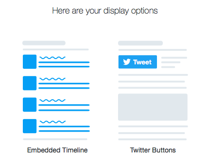 widget timeline twitter