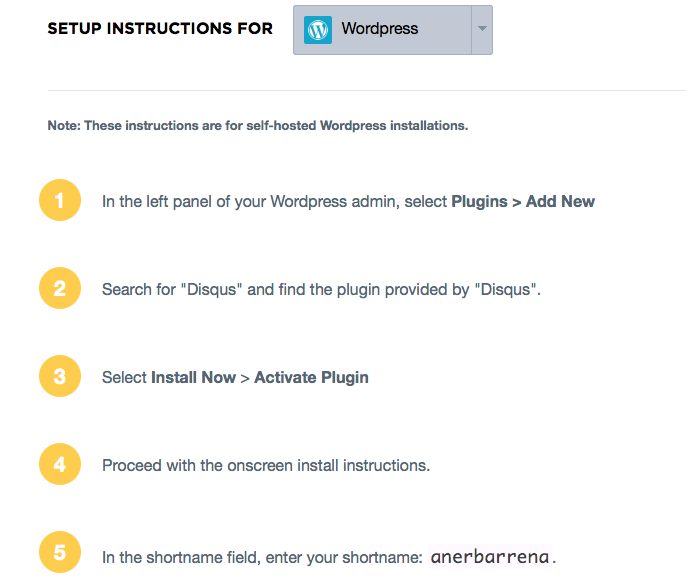 plugin wordpress disqus