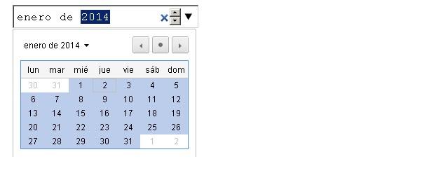 month input html5