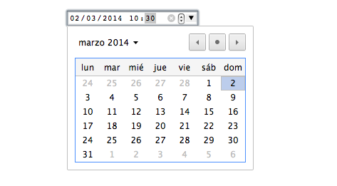 datetime-local input html5