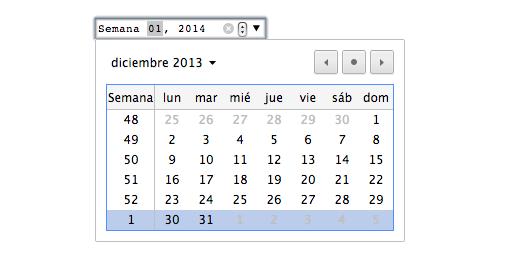 week input html5