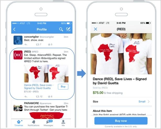 boton de comprar de twitter