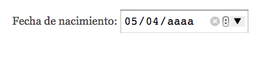 date input atributo step HTML5
