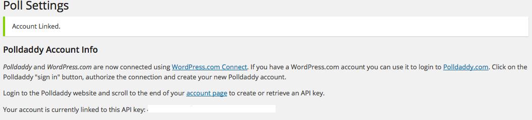 polldaddy linked