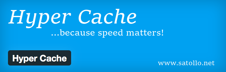plugins de cache para WordPress - Plugin hyper cache de wordpress
