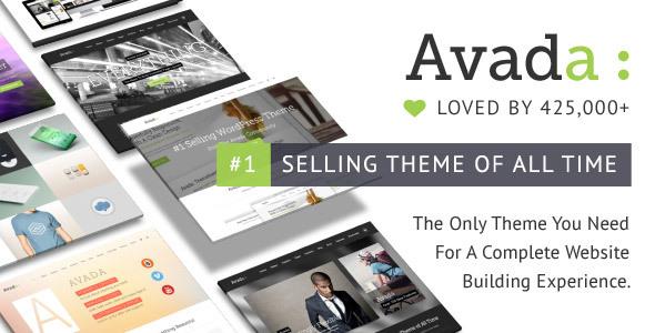 Avada WordPress Theme Themeforest
