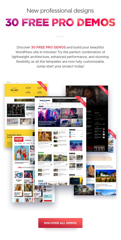 Newspaper WordPress Theme demos