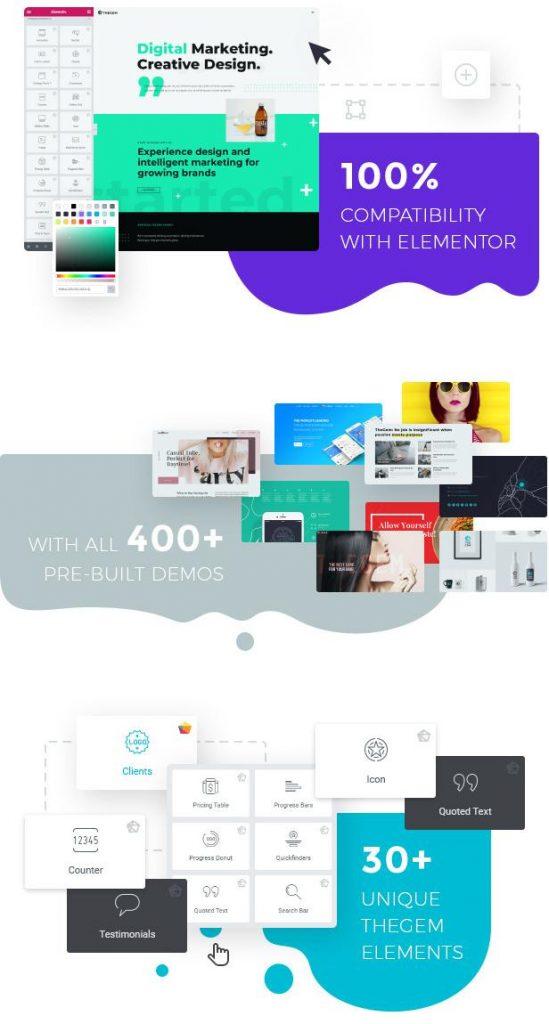 TheGem WordPress Theme características