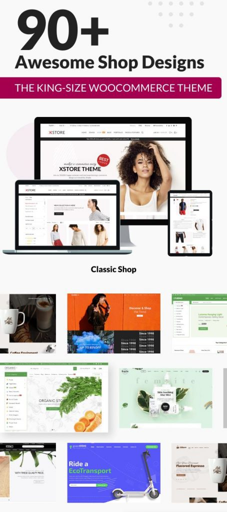 XStore WordPress Theme Demos